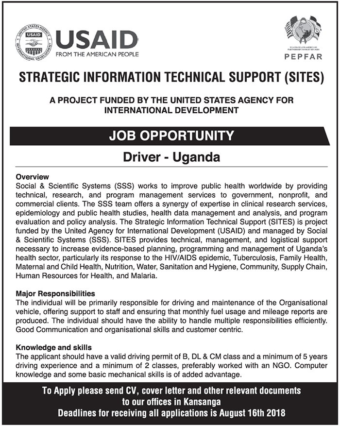 USAID is hiring | Ugashare com
